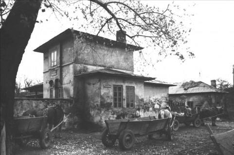 Domek Lanciego. Fot. PKZ, 1961. Neg. PKZ 5501.png