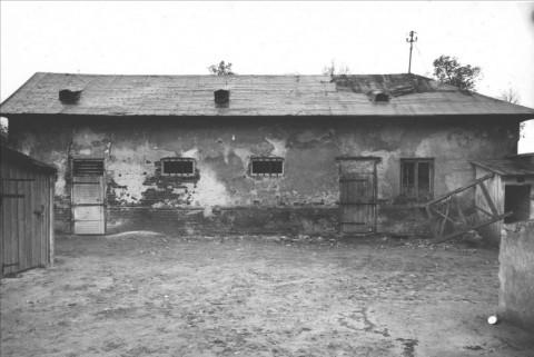 Drwalnia Peldy, elewacja północna. Fot. PKZ, 1961. Neg. PKZ 55127.png