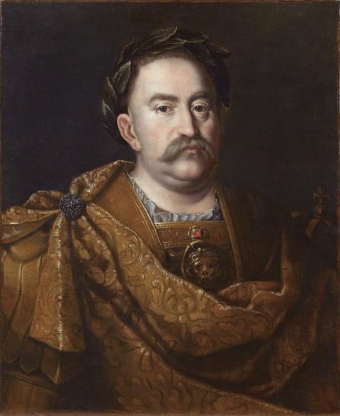 Portret Jana III w wieńcu laurowym