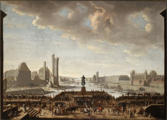 Widok na Pont Neuf w Paryżu