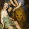 Portret królowej Marii Kazimiery z dziećmi