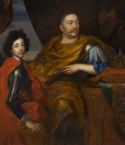 Jerzy Eleuter Szymonowicz Siemiginowski, Jan III Sobieski z Jakubem, ok. 1690