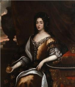 Maria Kazimiera, mal. Jan Tricius?, ok. 1680