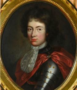 Portret Jakuba Ludwika Sobieskiego w wieku ok. 18 lat, z kolekcji Muzeum Pałacu w Wilanowie