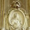 Medalion portretowy na nagrobku Aleksandra Benedykta Sobieskiego