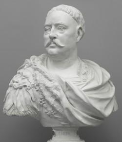 Popiersie Jana III, po 1683 oraz XIX w., z kolekcji Muzeum Pałacu w Wilanowie