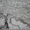 Mapa dorzecza Dunaju w dwóch częściach