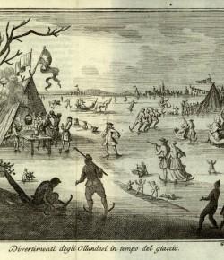 Rozrywki Holendrów, rycina z książki Thomasa Salmona