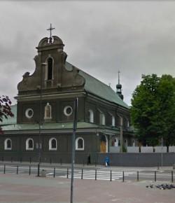 Kościół redemptorystów w Gliwicach, dawny kościół Franciszkanów, fot. z Google Street View