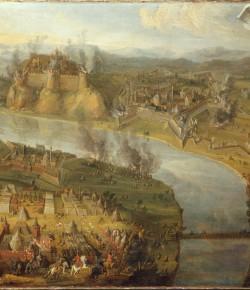 Bitwa pod Ostrzyhomiem, Polska, koniec XVII w., Bayerische Staatsgemäldesammlungen w Monachium