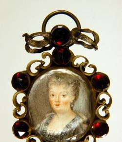 Miniatura portretowa Teresy Kunegundy Sobieskiej, pocz. XVIII w., © Bayerisches Nationalmuseum w Monachium, fot. Karl-Michael Vetters