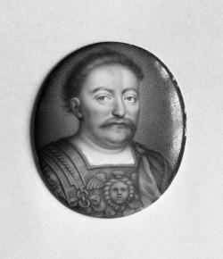 Miniatura portretowa Jana III Sobieskiego, 1650-1670, © Bayerisches Nationalmuseum w Monachium
