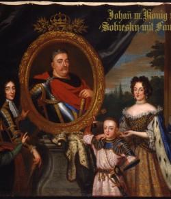 Henri Gascar, Portret Jana III Sobieskiego z rodziną, 2. poł. XVII w., Residenz München