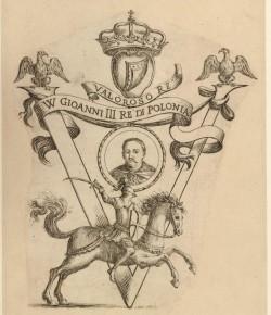G. M. Mitelli, Portret króla Jana III Sobieskiego, © Trustees of the British Museum
