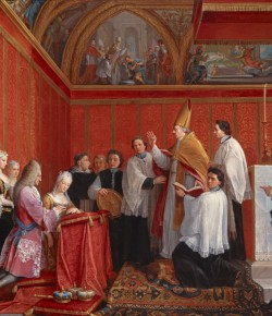 Agostino Masucci, Zaślubiny Marii Klementyny Sobieskiej i Jakuba Edwarda Stuarta, The National Galleries of Scotland