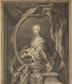 Jacob Frey, Portret Marii Klementyny Sobieskiej, The National Galleries of Scotland