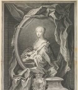 wg Jacoba Freya, Portre Marii Klementyny Sobieskiej, The National Galleries of Scotland