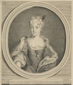 Charles Dupuis, Portret Marii Klementyny Sobieskiej, The National Galleries of Scotland