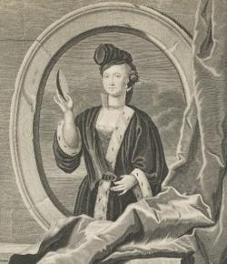 J. Veraut, Portret Marii Klementyny Sobieskiej, The National Galleries of Scotland