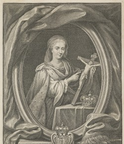 Girolamo Rossi, Portret Marii Klementyny Sobieskiej, The National Galleries of Scotland