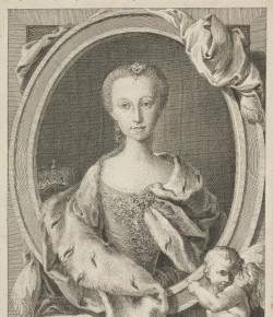 Portret Marii Klementyny Sobieskiej, The National Galleires of Scotland