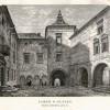 Zamek w Olesku wg XIX-wiecznej grafiki