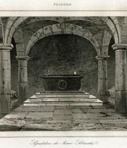 Sarkofag króla Jana III Sobieskiego w krypcie św. Leonarda na Wawelu, Biblioteka Narodowa w Warszawie